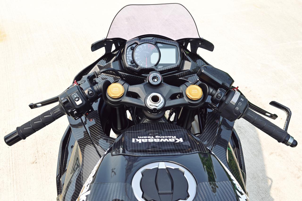 Images : 9番目の画像 - Kawasaki Ninja ZX-25R レースイメージカスタム車 - webオートバイ