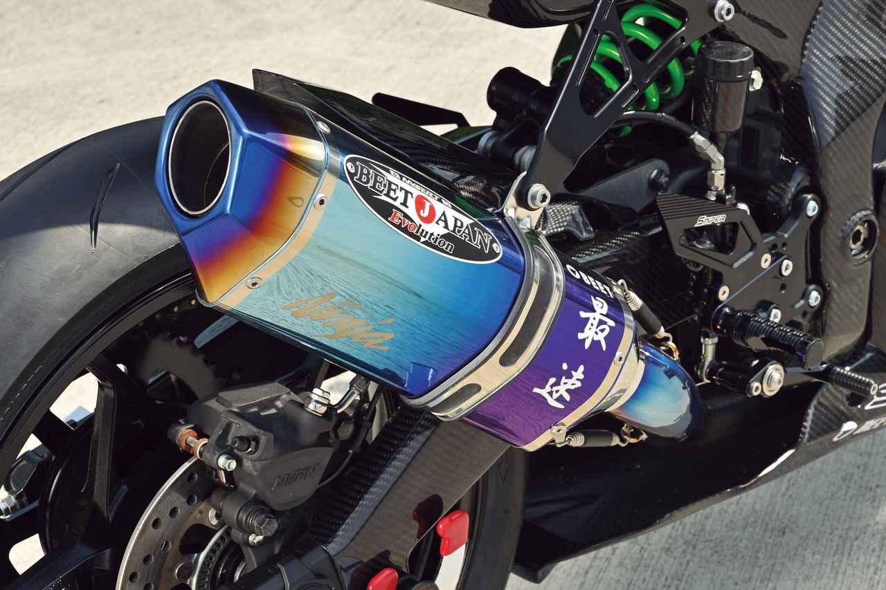 Images : 4番目の画像 - Kawasaki Ninja ZX-25R レースイメージカスタム車 - webオートバイ