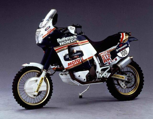 画像: NXR750(1989) www.honda.co.jp