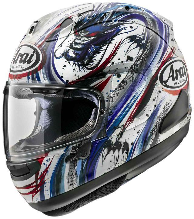 画像: アライヘルメット「RX-7X キヨナリ・トリコ」 メーカー希望小売価格:税別61,000円