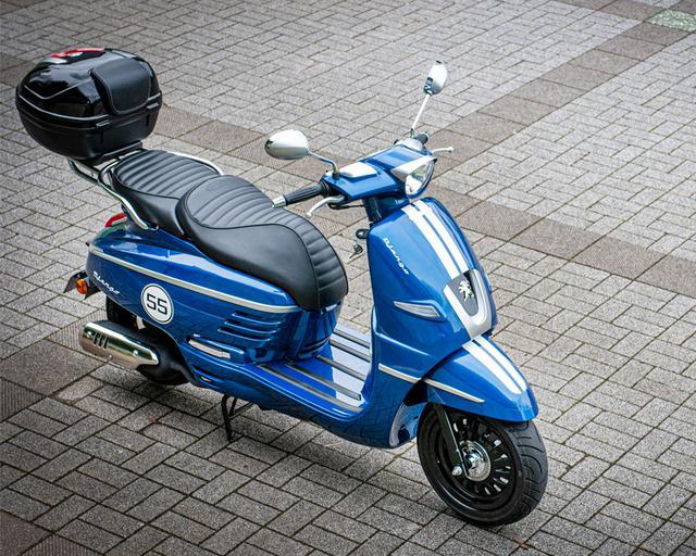 画像2: プジョー「ジャンゴ スポーツ ツーリング」webオートバイ特別仕様車 web申込専用ページ