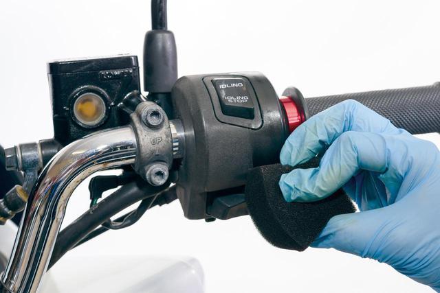 画像2: バイクの色褪せた樹脂パーツは蘇るのか? 手軽な方法とおすすめのケミカル用品を紹介!