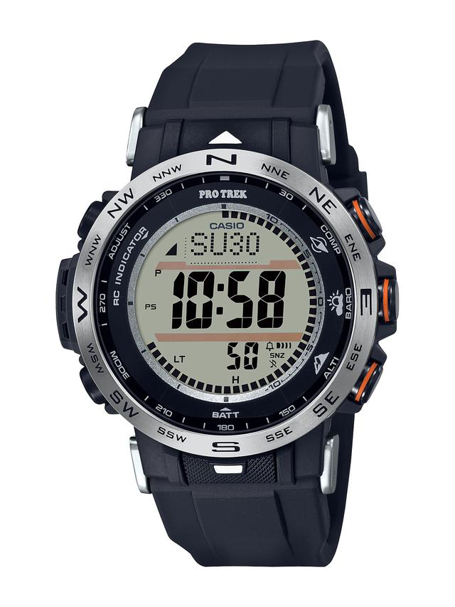 画像7: 【腕時計】高機能で価格も魅力的! プロトレックの新型アウトドアウォッチ「PRW-30」はバイク乗りとの相性もいい!