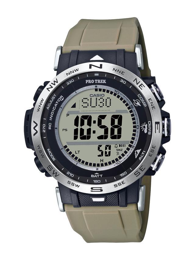 画像8: 【腕時計】高機能で価格も魅力的! プロトレックの新型アウトドアウォッチ「PRW-30」はバイク乗りとの相性もいい!