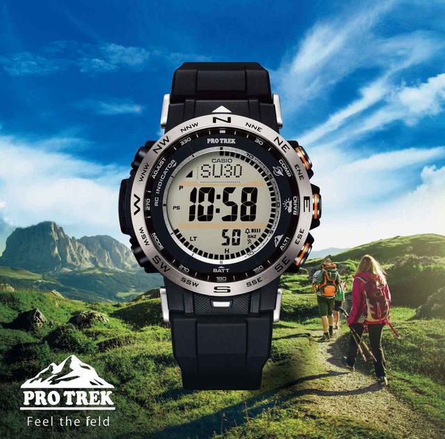 画像: PRO TREK「PRW-30」 シリーズ メーカー希望小売価格:税込44,000円~49,500円
