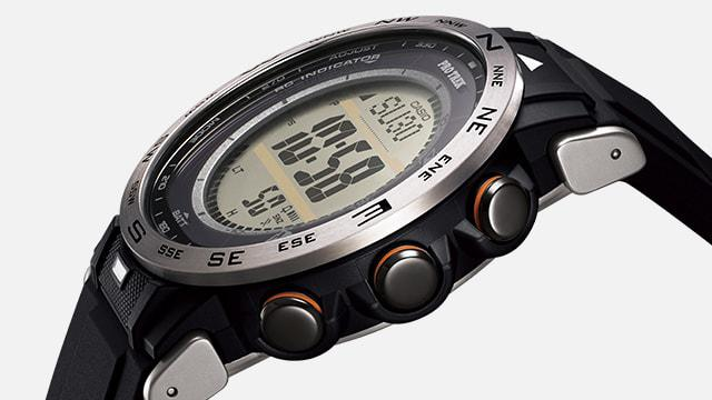 画像1: 【腕時計】高機能で価格も魅力的! プロトレックの新型アウトドアウォッチ「PRW-30」はバイク乗りとの相性もいい!