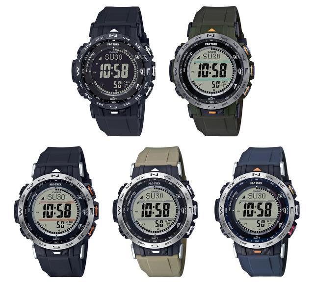 画像4: 【腕時計】高機能で価格も魅力的! プロトレックの新型アウトドアウォッチ「PRW-30」はバイク乗りとの相性もいい!