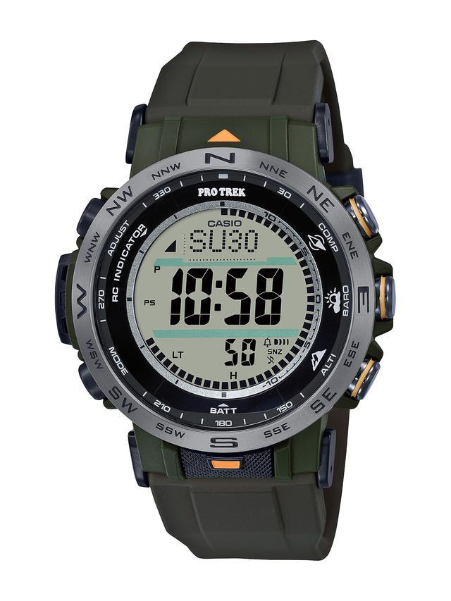 画像6: 【腕時計】高機能で価格も魅力的! プロトレックの新型アウトドアウォッチ「PRW-30」はバイク乗りとの相性もいい!