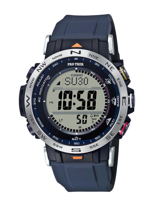 画像9: 【腕時計】高機能で価格も魅力的! プロトレックの新型アウトドアウォッチ「PRW-30」はバイク乗りとの相性もいい!