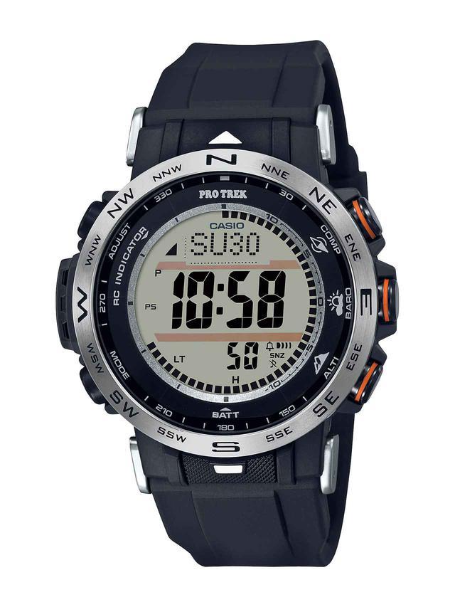 画像2: 【腕時計】高機能で価格も魅力的! プロトレックの新型アウトドアウォッチ「PRW-30」はバイク乗りとの相性もいい!