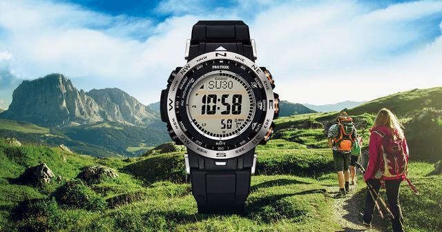 画像: PRW-30シリーズ【デジタル】 - プロトレック - 腕時計 - CASIO