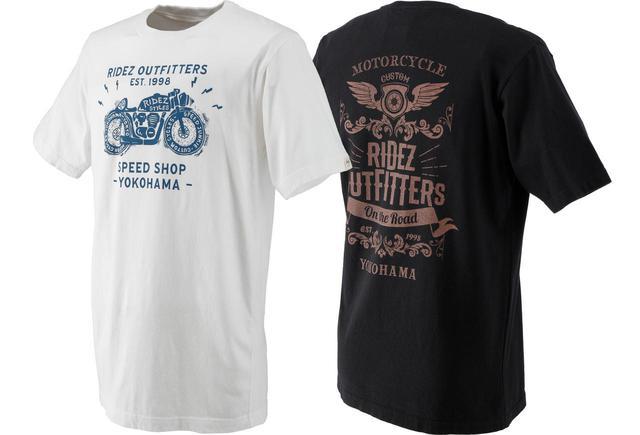 画像: ライダーの夏。ニッポンの夏。RIDEZから日本製Tシャツの新作が4型・計8種類登場! あなたはどれが好き? - webオートバイ