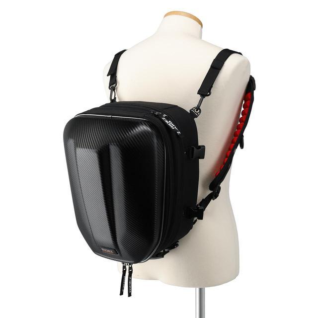 画像5: シートバッグだけどリュックにもなる! しかもフルフェイスヘルメットが入る! ひとつで何役もこなす便利なライダー向けバッグ