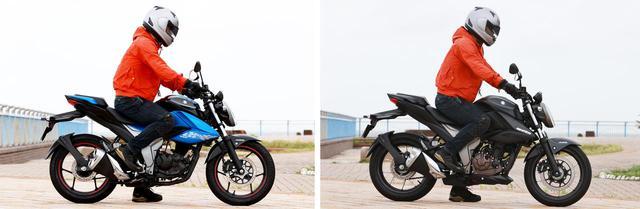 画像1: (左)ジクサー150|(右)ジクサー250