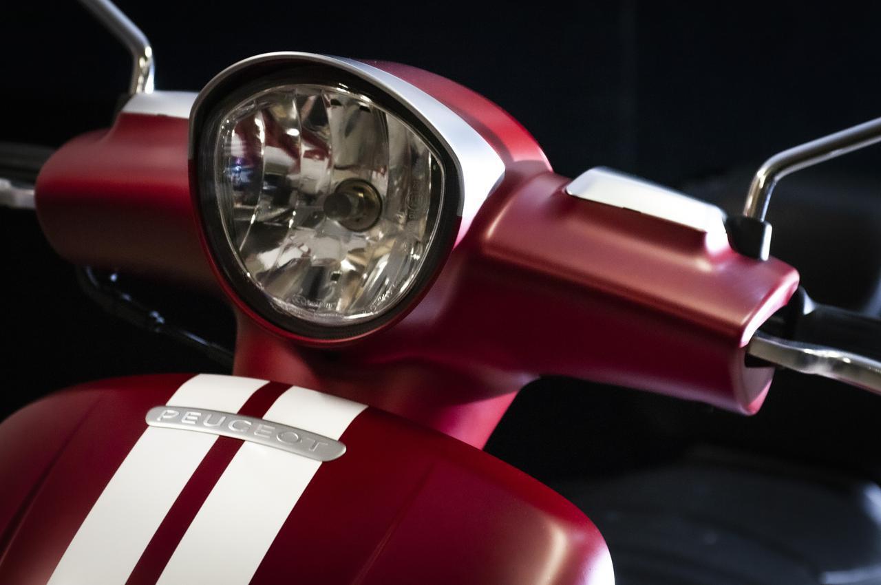画像3: 他に類を見ないデザインのおしゃれフレンチスクーター