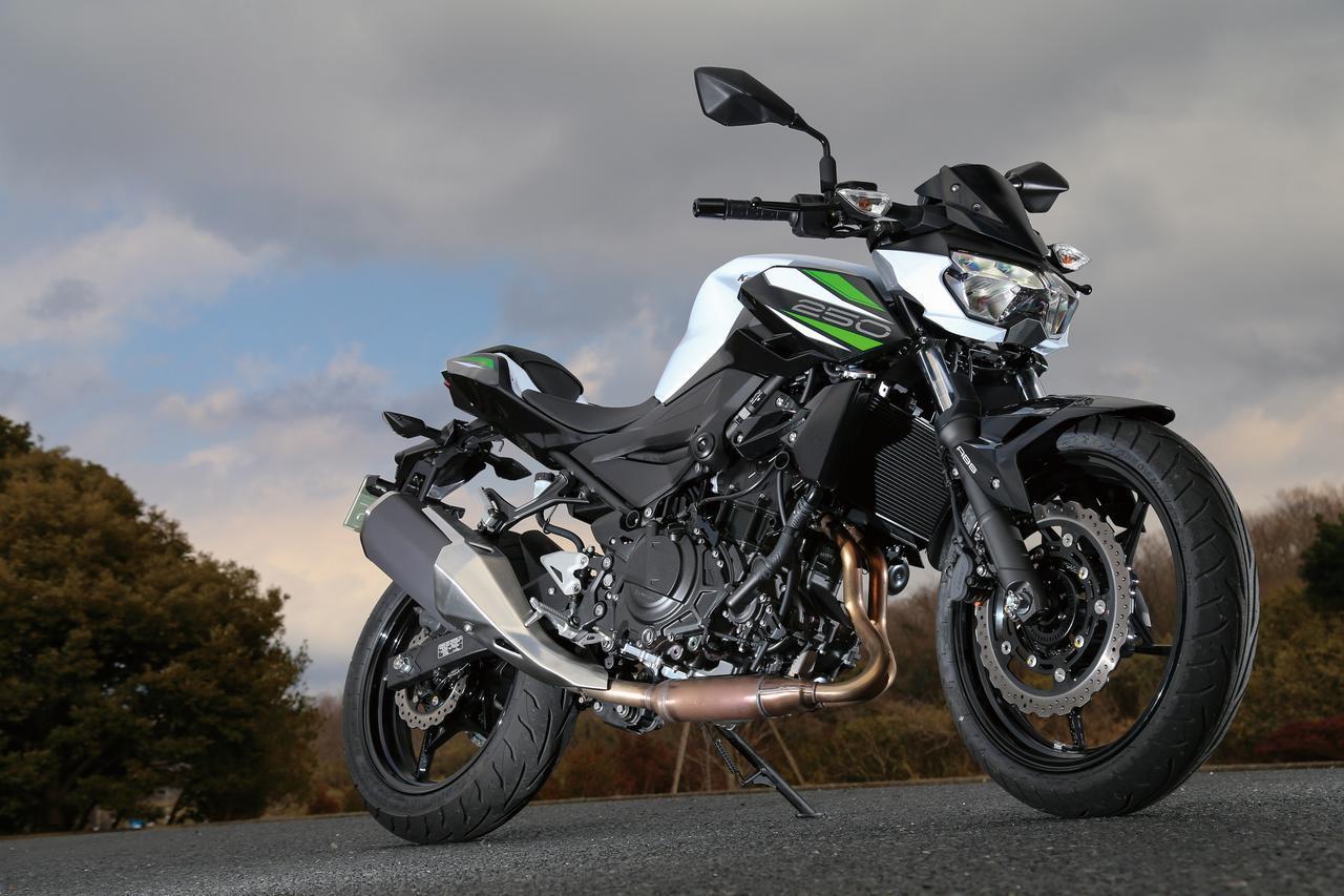 画像: カワサキ「Z250」試乗インプレ・車両解説(2019年) - webオートバイ