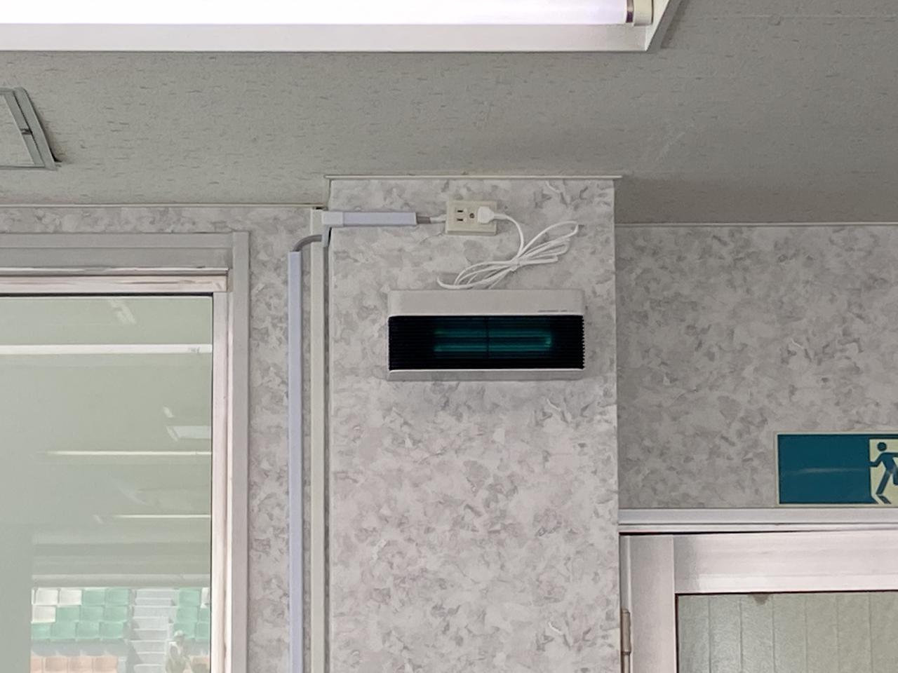 画像: レースを管理するコントロールタワーには、新たに紫外線照射装置が設置されたとのこと。