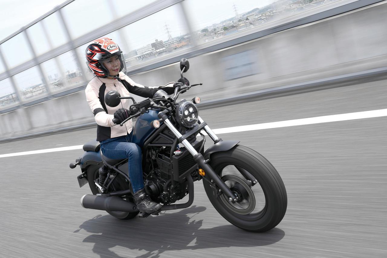画像: Honda レブル250 エンジン:水冷4ストDOHC4バルブ単気筒/249cc メーカー希望小売価格:税込59万9,500円