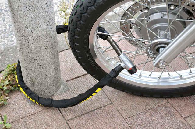 画像: バイクの保管場所を工夫する