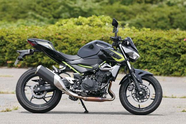 画像: Kawasaki Z250 エンジン形式:水冷4ストDOHC4バルブ並列2気筒 総排気量:248cc メーカー希望小売価格:税込61万500円 2020年モデルの発売日:2019年11月1日