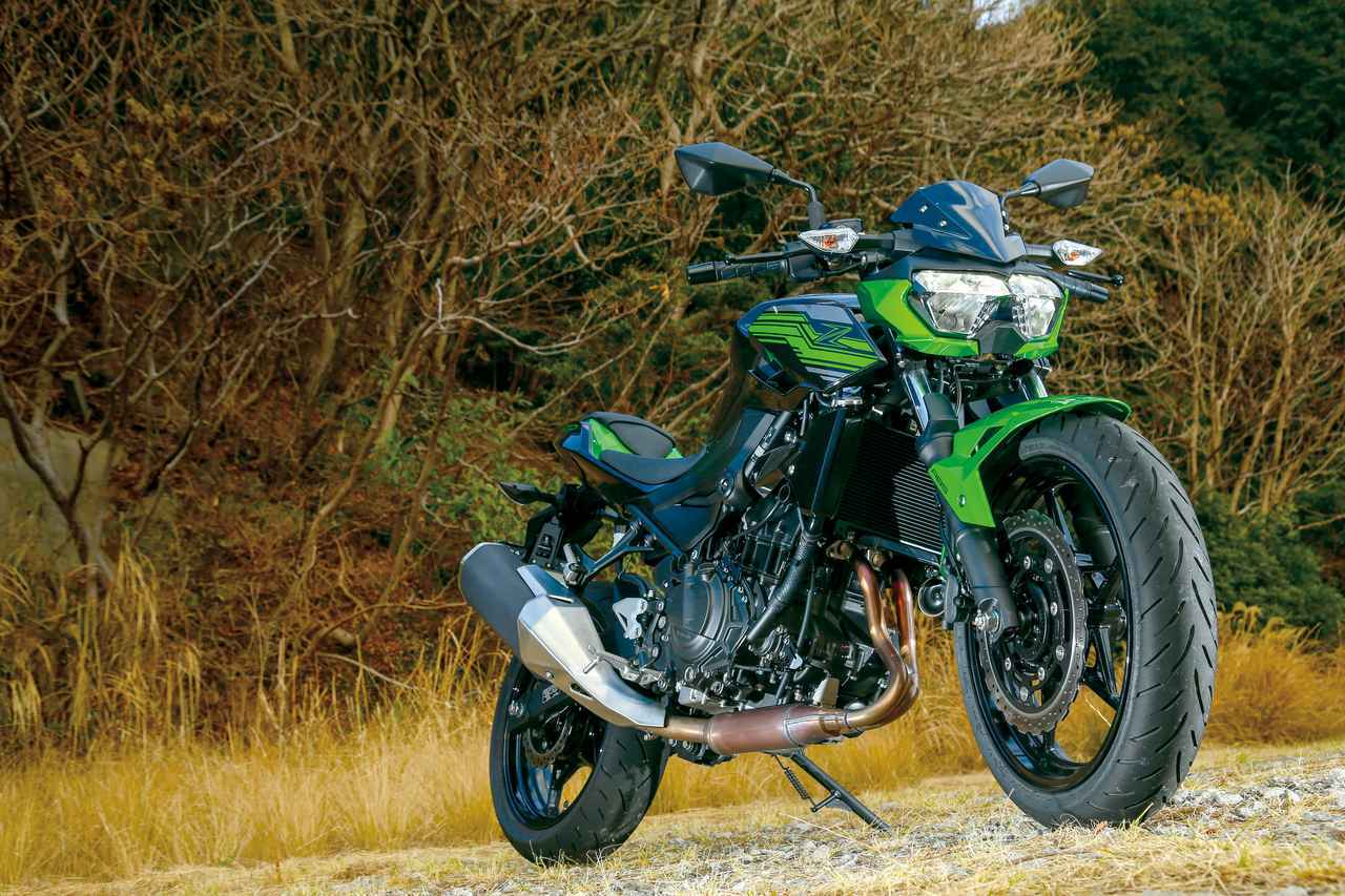 画像: カワサキ「Z400」試乗インプレ・車両解説 - webオートバイ