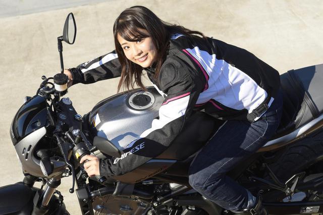 画像: 平嶋夏海 × スズキSV650 ABS・SV650X ABS【オートバイ女子部のフォトアルバム】 - webオートバイ