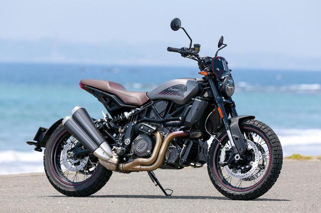 画像: Indian MOTORCYCLE FTR Rally 総排気量:1203cc エンジン形式:水冷4ストDOHC4バルブV型2気筒 最高出力:123HP/最大トルク:12.23㎏-m/6000rpm メーカー希望小売価格:税込209万8000円~