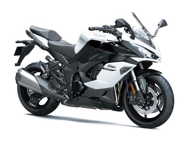 画像: Ninja 1000SX 2020年モデル「パールブリザードホワイト×メタリックカーボングレー」