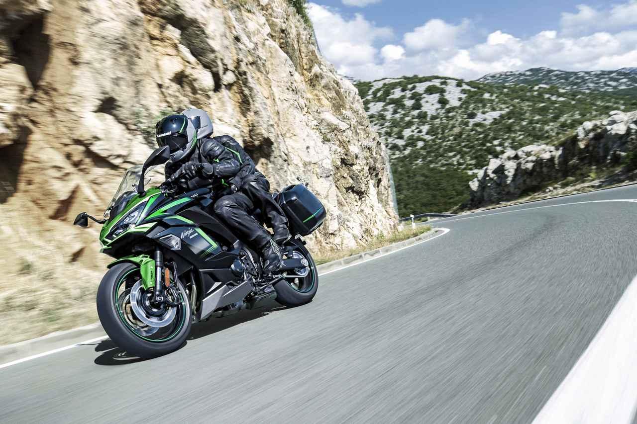 Images : 10番目の画像 - カワサキ「Ninja 1000SX」(2021年モデル) - webオートバイ