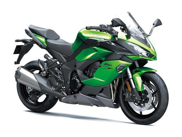 画像: Ninja 1000SX 2020年モデル「エメラルドブレイズドグリーン×メタリックカーボングレー」