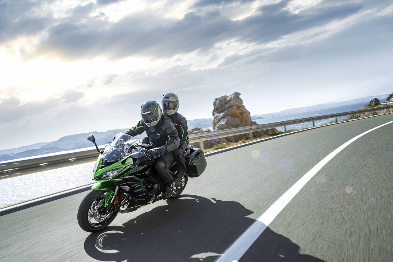 Images : 9番目の画像 - カワサキ「Ninja 1000SX」(2021年モデル) - webオートバイ