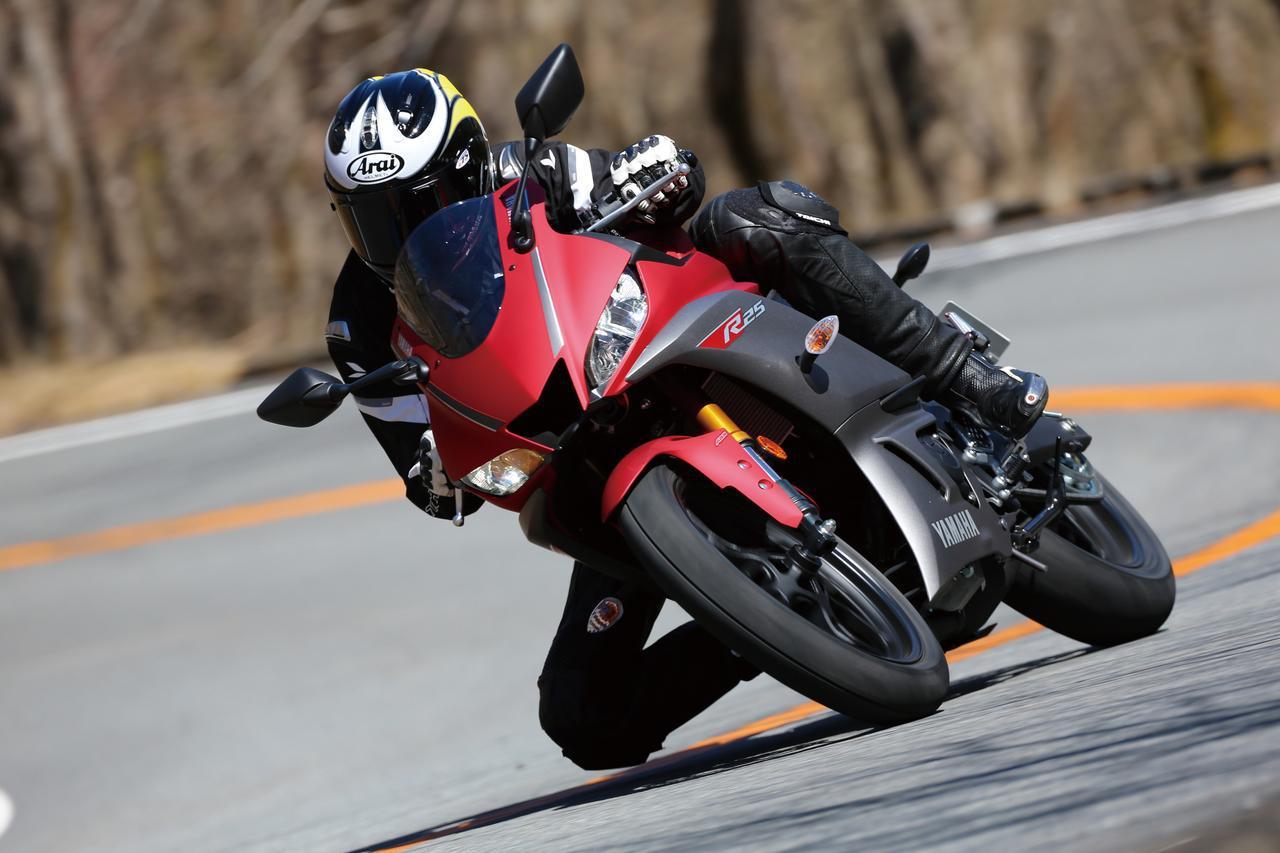 画像: ヤマハ「YZF-R25」試乗インプレ(2019年) - webオートバイ