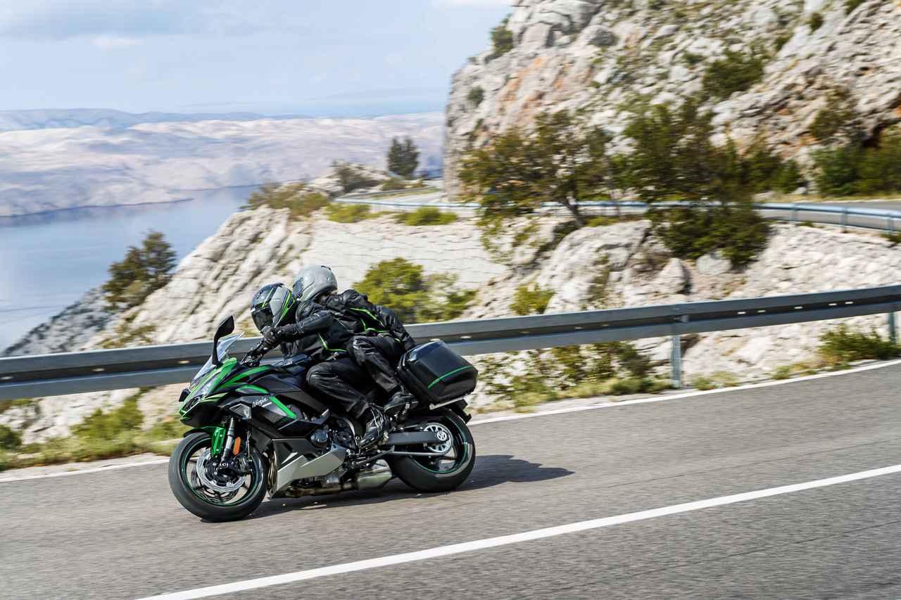 Images : 15番目の画像 - カワサキ「Ninja 1000SX」(2021年モデル) - webオートバイ