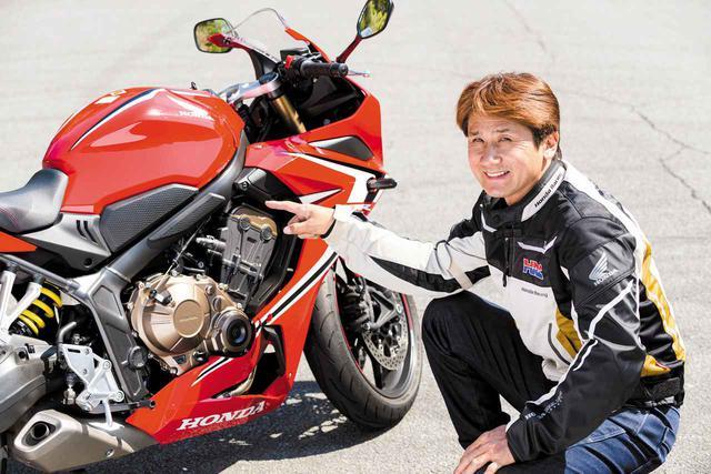 画像: 「スーパースポーツのCBR600RRのアルミフレームに対し、CBR650Rは鉄フレームを採用していますが、鉄フレームがこのモデルの走りの個性を演出していますね。公道用スポーツバイクとして、とても良い仕上がりです」と伊藤さんは高く評価していました。