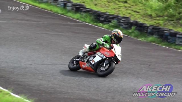 画像: 2020.7.12 明智ヒルトップサーキット 中部ミニロードレース#2 Enjoy決勝 www.youtube.com