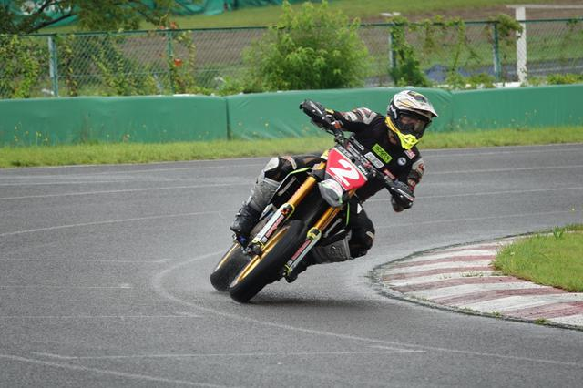 画像: 森田選手のレース中。