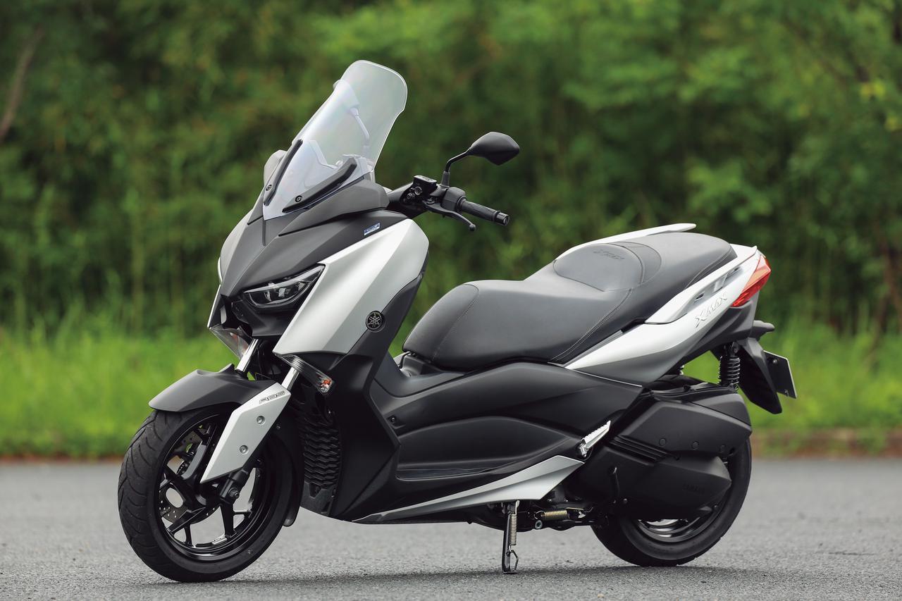 画像: YAMAHA XMAX ABS 総排気量:249cc エンジン形式:水冷4ストSOHC4バルブ単気筒 メーカー希望小売価格:税込65万4500円