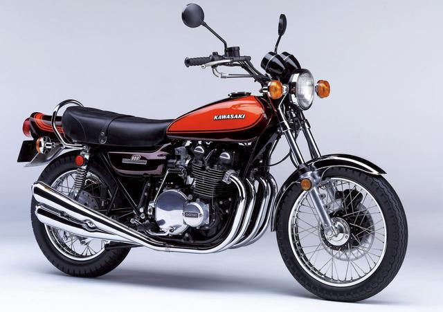 画像: Kawasaki 「900 super4」(Z1)1972年発売