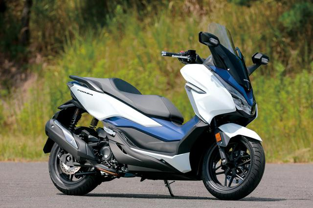 画像: Honda FORZA 総排気量:248cc エンジン形式:水冷4ストSOHC4バルブ単気筒 メーカー希望小売価格:税込65万8900円 現行モデルの発売日:2018年7月20日