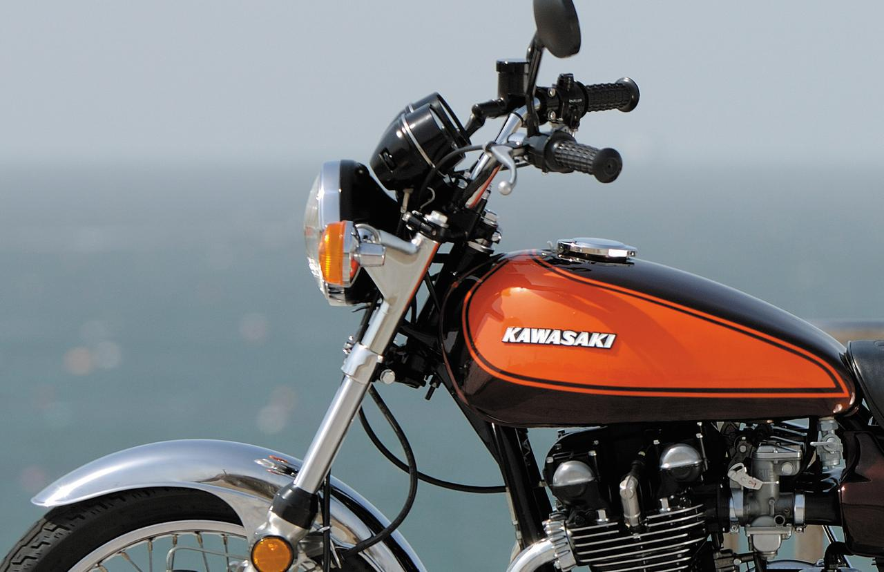 """画像: カワサキ 900SUPER4(Z1)歴史解説 """"カワサキZ""""の源流、絶版名車の代名詞ともいえる存在は永久に不滅! - webオートバイ"""