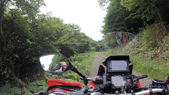 画像1: 気を取り直して林道へ。「例の絶景」にも行ってみた
