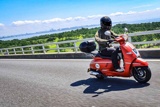 画像2: 高速道路も乗れてツーリングに便利な150ccモデル