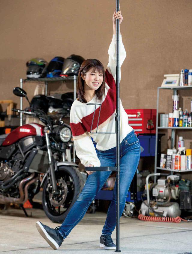 画像: 夢のガレージ気分はこれで味わえる!? おしゃれなバイク用品置き場を作ろう! ドッペルギャンガー「ガレージ ワンポールラック」 - webオートバイ