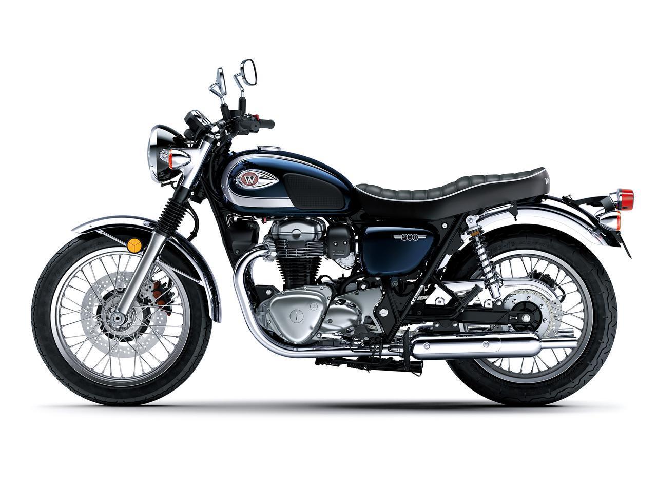 画像2: カワサキが「W800」シリーズの2021年モデルを発売! W800/W800ストリート/W800カフェの新色をチェック!