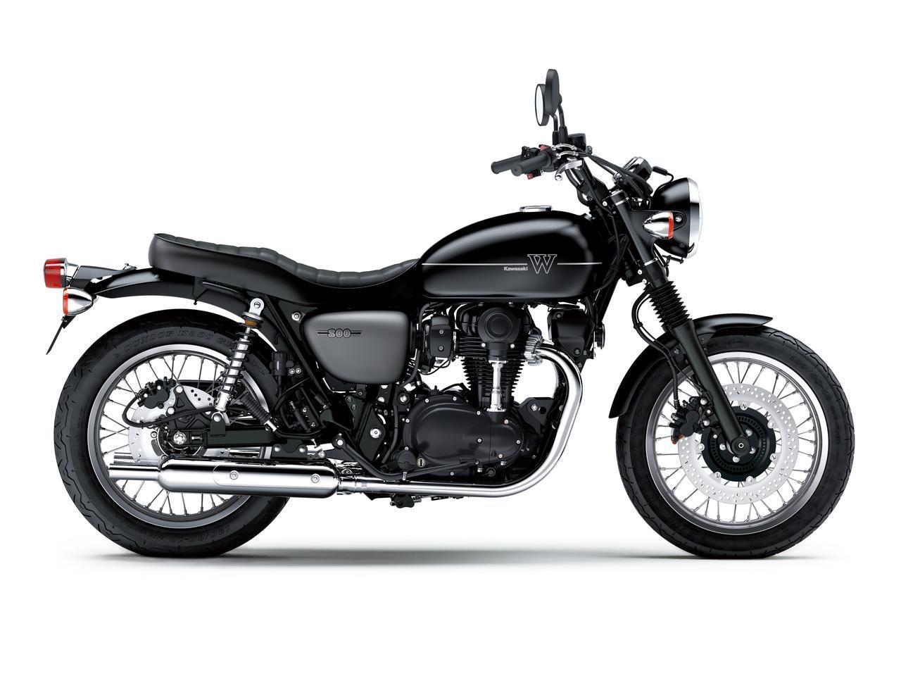 画像12: カワサキが「W800」シリーズの2021年モデルを発売! W800/W800ストリート/W800カフェの新色をチェック!