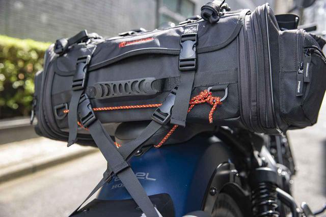 画像2: レブル250にシートバッグを積む!
