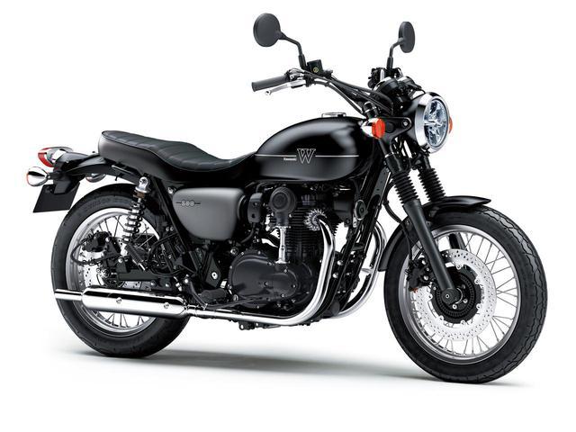 画像10: カワサキが「W800」シリーズの2021年モデルを発表! W800/W800ストリート/W800カフェの新色をチェック!