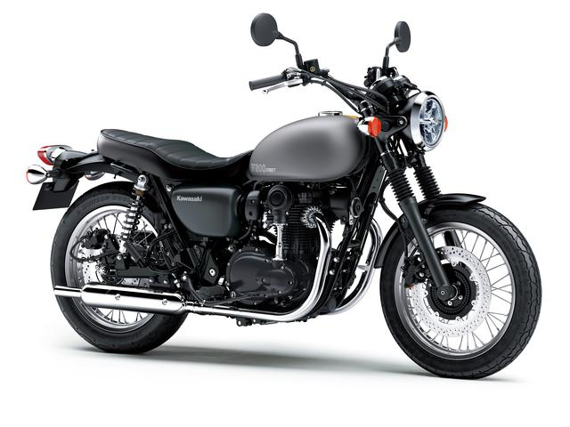 画像22: カワサキが「W800」シリーズの2021年モデルを発表! W800/W800ストリート/W800カフェの新色をチェック!