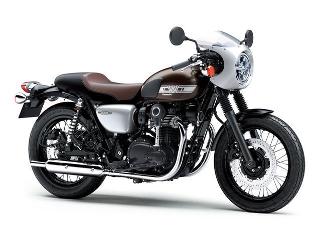 画像26: カワサキが「W800」シリーズの2021年モデルを発表! W800/W800ストリート/W800カフェの新色をチェック!