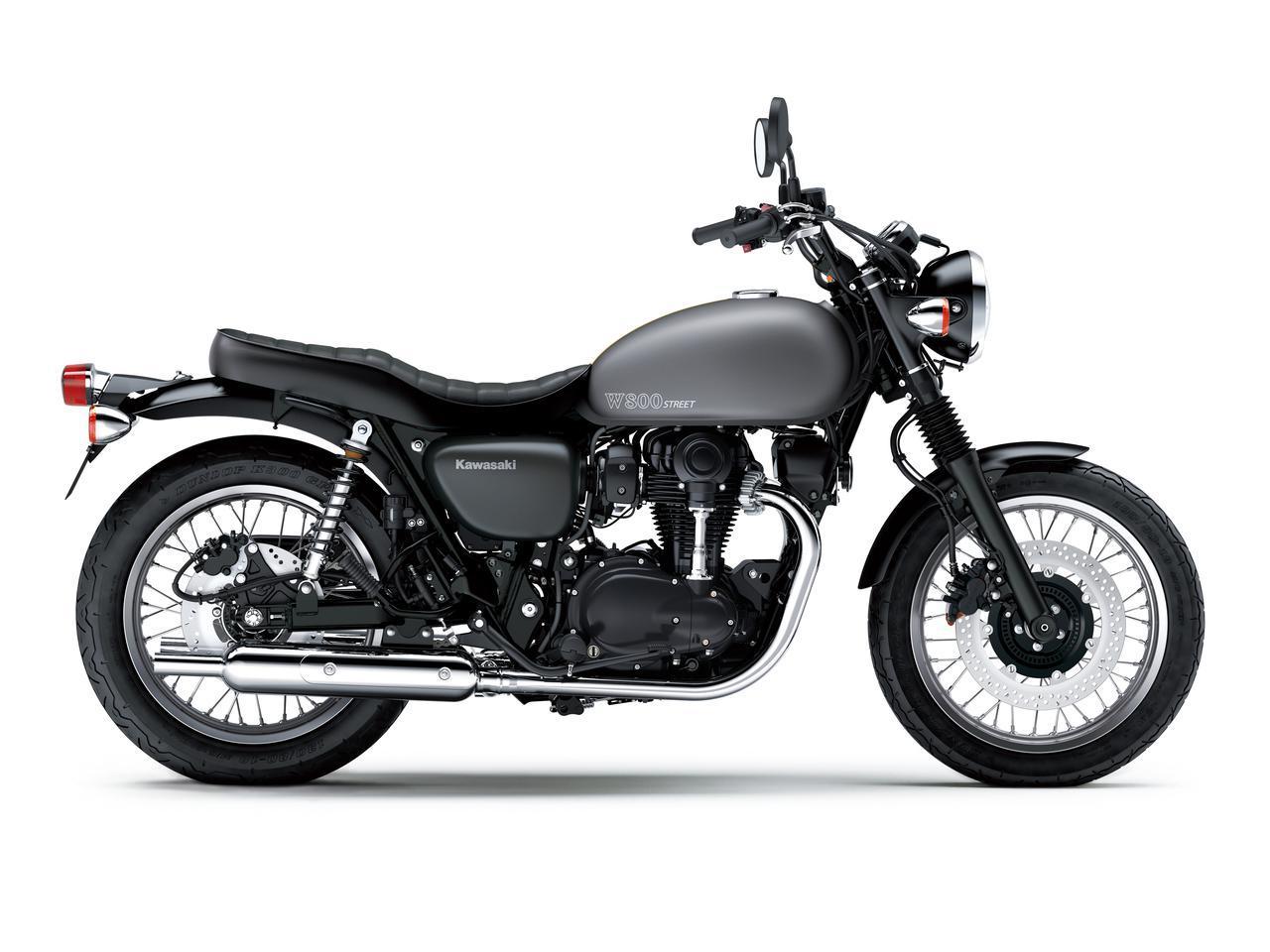 画像9: カワサキが「W800」シリーズの2021年モデルを発売! W800/W800ストリート/W800カフェの新色をチェック!